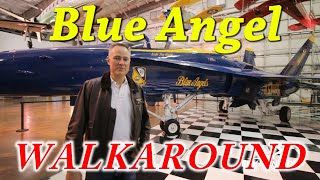 Blue Angel FA-18 Walkaround