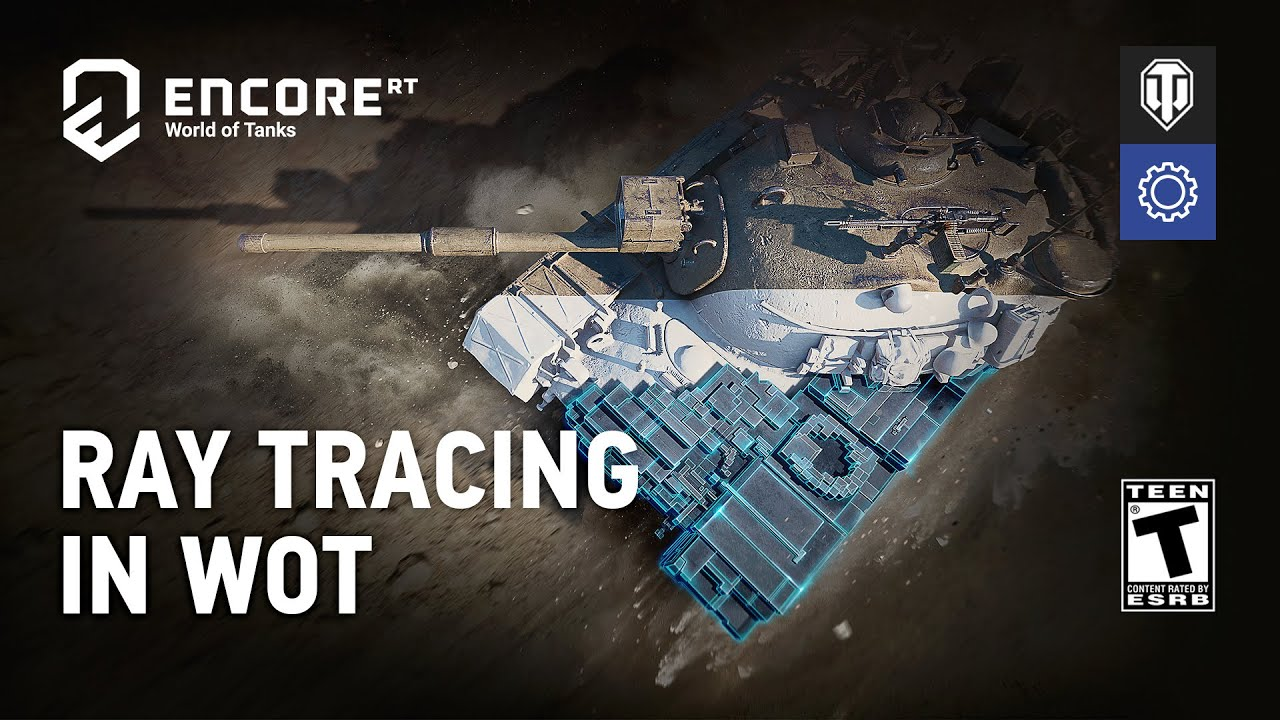 World of Tanks enCore RT demo allows ray tracing on non-RTX