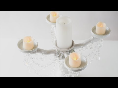 This DIY Candelabra Will Add a Touch of Elegance to Any Home
