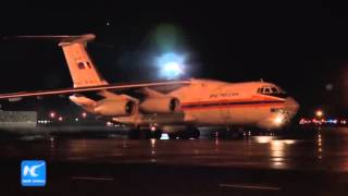 RAW: Second plane with remains and possessions of crash victims arrive in St. Petersburg