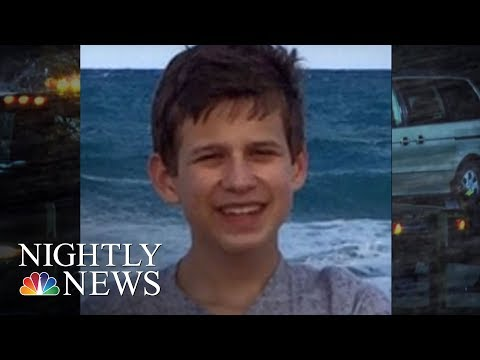 Teen Who Died After Being Crushed By Minivan Seat Called 911 Twice   NBC Nightly News