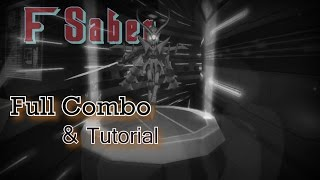LostSaga Indonesia F Saber Full Combo [+ Tutorial]