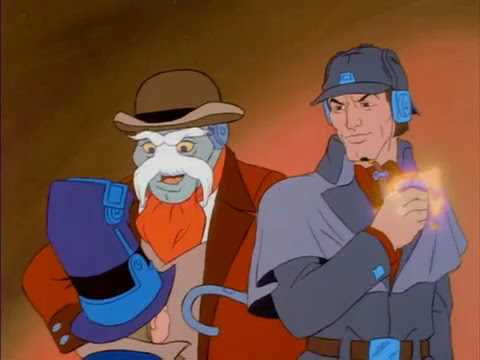 BraveStarr Ep 53 Sherlock Holmes In The 23rd Century Part 01