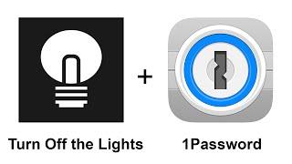 turn off the lights iphone app 1password