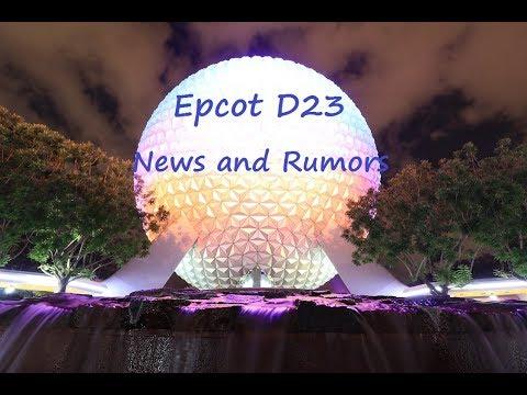 Epcot D23 News - Rumors - Brazil - Inside Out - Ellen's Closing