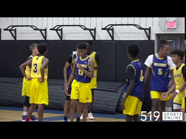 Exhibition Basketball (Wolverines U16) - Team Gold vs Team Blue