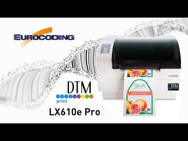 Vuoi vedere la nuova stampante DTM LX610e in azione?