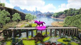 Ark Coop Map Crystal #20: Ngựa thần và công viên khủng long nước