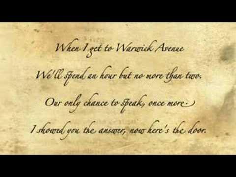 Duffy - Warwick Avenue with lyrics