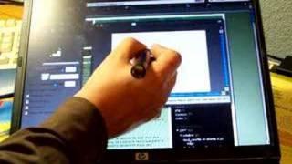 Pizarra digital bajo coste con wiimote y ubuntu linux. v2