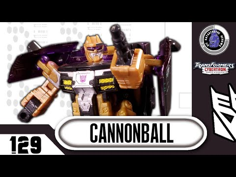 Transformers: Cybertron Cannonball Review By Kit Katastrophe