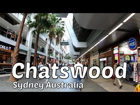 CHATSWOOD City Centre - Chatswood NSW - Sydney Australia