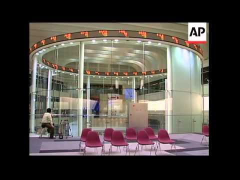 Tokyo stocks fall sharply; Taipei, Hong Kong open