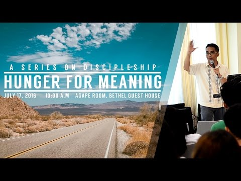 Hunger for Meaning - Arnel S.
