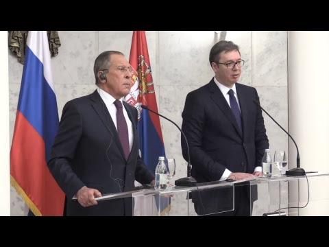 (KURIR TV UŽIVO) ŠEF RUSKE DIPLOMATIJE DOPUTOVAO U BEOGRAD: Susret sa Vučićem u Vili Mir