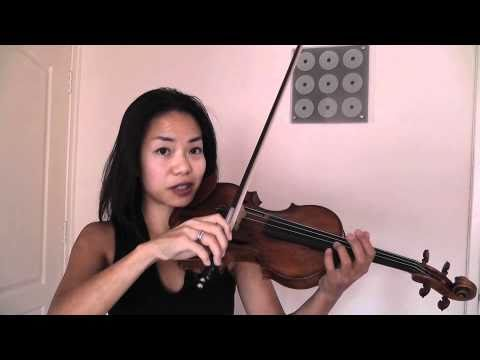Violin Lessons -  Ning Kam Tutorials - Violin Tone Production 1