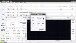 Demo to NEW LIVE Oanda FX Trader software for forex trading