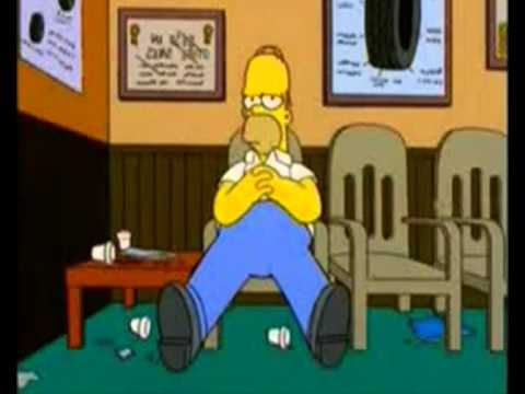 Homer Sittingwmv  YouTube