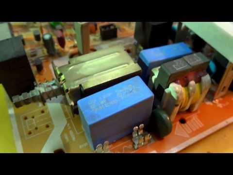 Ремонт телевизора Samsung Ck-5035ZR. Курсы телемастеров.