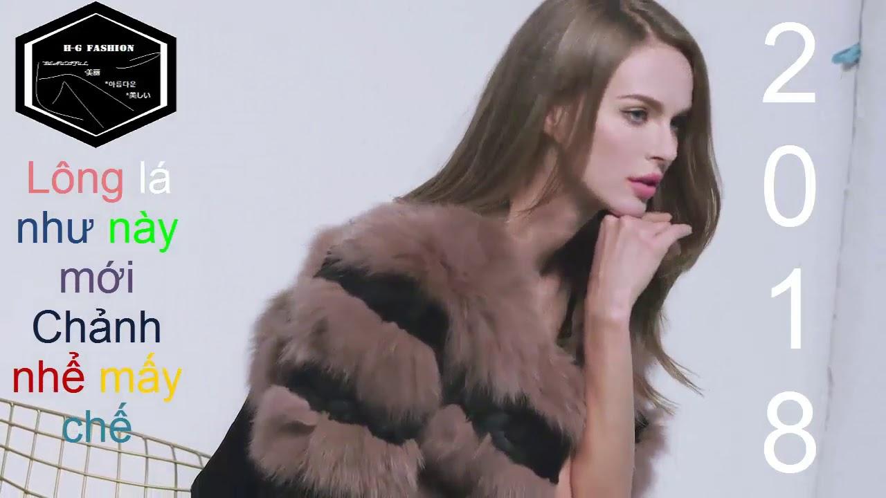 [FS-HG] mẫu áo lông thú sang chảnh nhìn mà nghiến răng kèn kẹt M2018