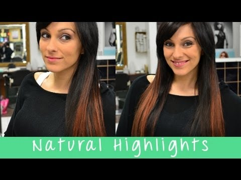 How to add natural highlights with clip on hair extensions how to add natural highlights with clip on hair extensions instant beauty youtube pmusecretfo Gallery