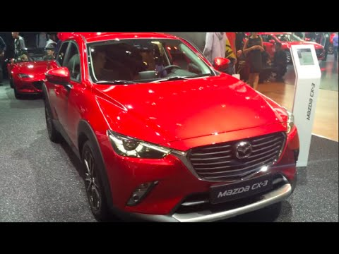 Brilliant Mazda CX3 2016 In Detail Review Walkaround Interior