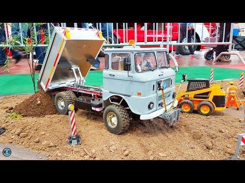 RC Truck IFA W50 L & Farmer Action 🚜 IG Modellbaufreunde Ost Leipzig 2017