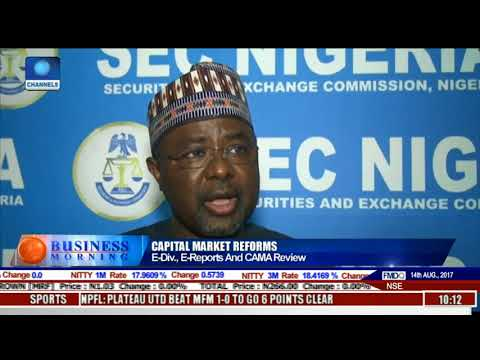 Focus On SEC Historic Meeting On Capital Market Reforms Pt.2 l Business Morning l