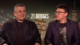 21 bridges movie - celebrity interview the russo brothers stxfilms
