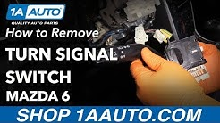 How to Remove Turn Signal Switch 02-07 Mazda 6