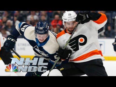 Philadelphia Flyers Vs. Columbus Blue Jackets | CONDENSED GAME | 11/27/19 | NBC Sports
