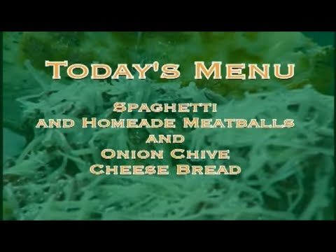 Everyday Manna with Lisa Smith: Spaghetti and Meatballs