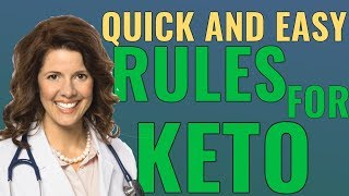Keto Diet Explained! Quick and Easy Rules of the Keto Diet