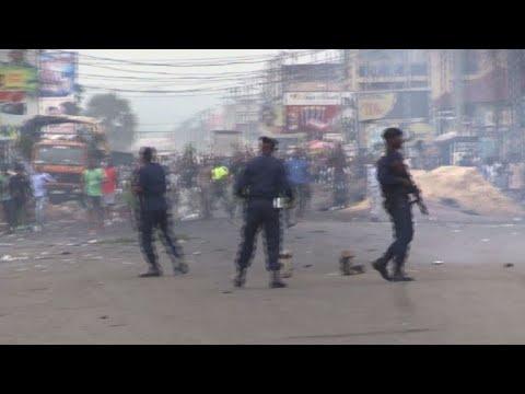 afpbr: Repressão a protestos na RDC