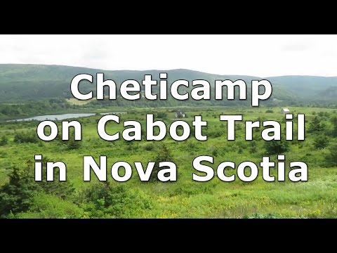 Cheticamp on Cabot Trail in Nova Scotia