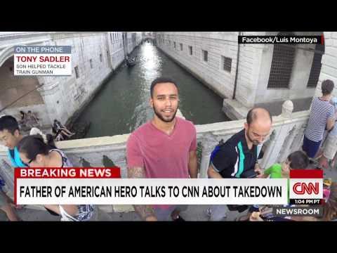 Father of American Hero Anthony Sadler Speaks to Poppy Harlow