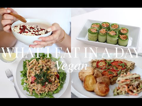 What I Eat in a Day #14 (Vegan/Plant-based) | JessBeautician