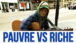 Artiste pauvre vs artiste riche (étude sociale) / Poor vs Rich (musical social experiment)