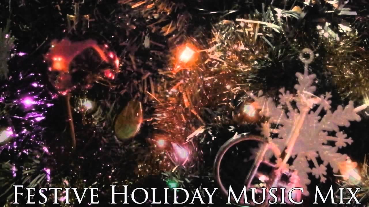 Festive Christmas Holiday Music Compilation 1 Hour Long - YouTube