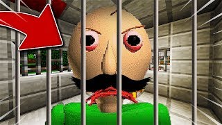 JE CAPTURE LE PAPA DE BALDI SUR MINECRAFT !! The father of Baldi in Minecraft !