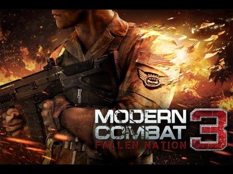 Modern Combat 3: Fallen Nation - First Mission - iPad 2 - HD Video Walkthrough - Part 1