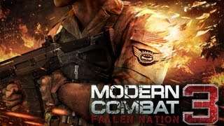 Modern Combat 3: Fallen Nation - First Mission - iPad 2 - HD Video Walkthrough - Part 1