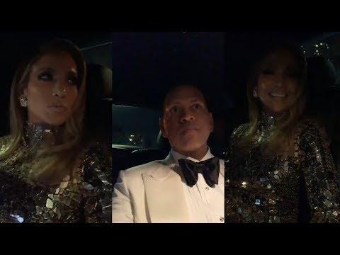 Jennifer Lopez & Alex Rodriguez  Instagram  Stream  24 February 2019 Oscars2019