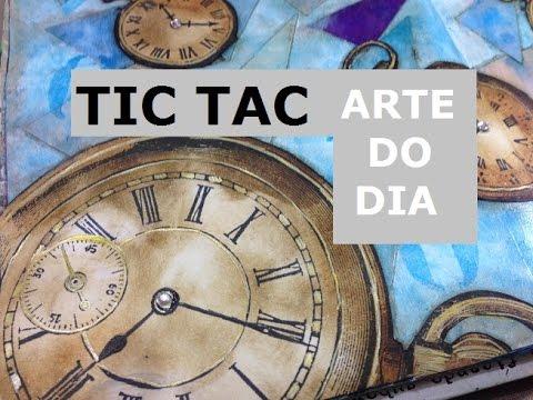 Tic Tac - Arte do Dia (Arte Day) - VIDEO