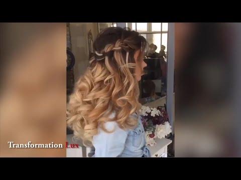 Очень красивые прически на длинные волосы! 👍✨ Выбирайте свою любимую! 😍