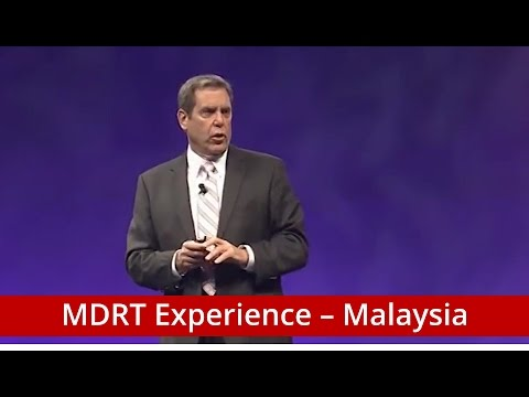 International Conference Keynote Speaker - Bill Cates | MDRT Experience - Malaysia