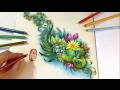 The Magic Pond: MAGICAL JUNGLE   Coloring Book by Johanna Basford
