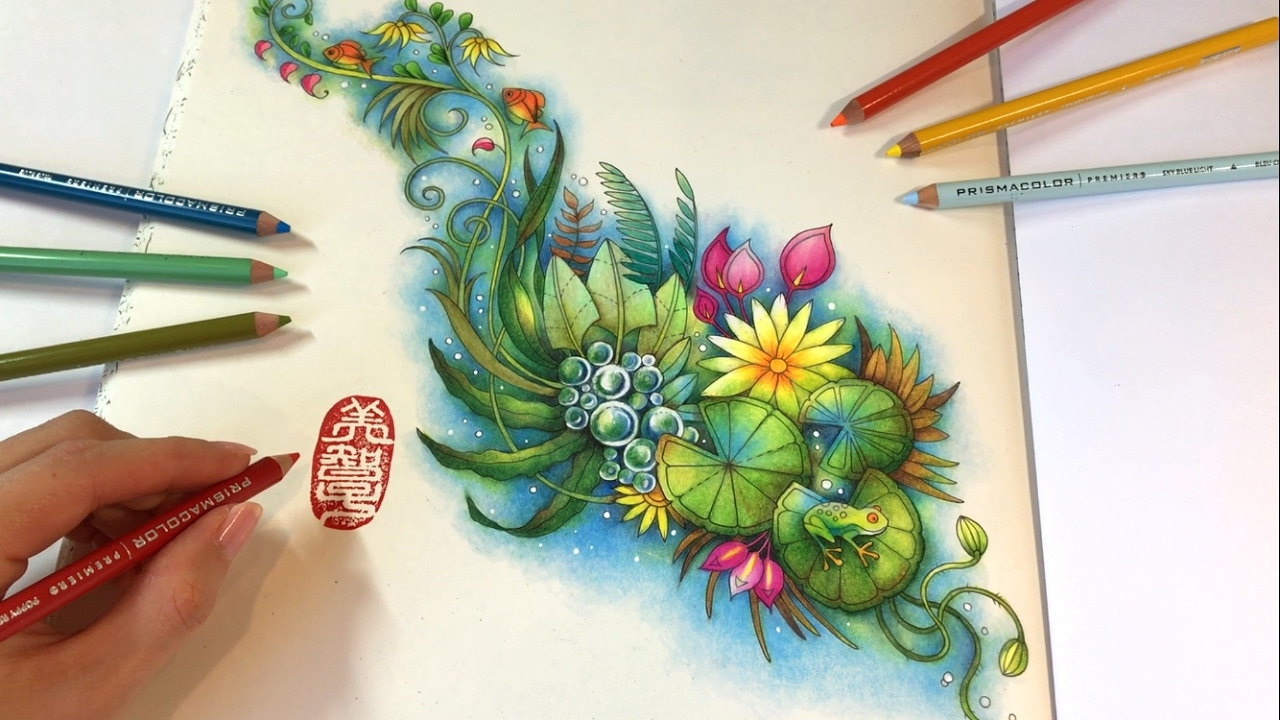 The Magic Pond: MAGICAL JUNGLE | Coloring Book by Johanna ...