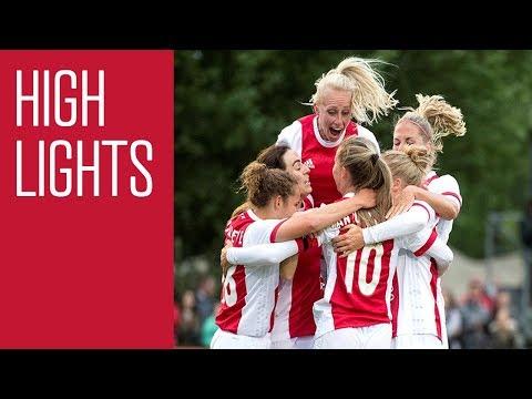 Highlights Ajax Vrouwen - sc Heerenveen