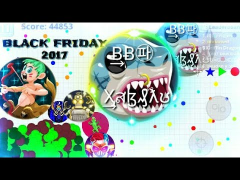 NEW SKINS AND BLACK FRIDAY // 3 Epic Dominating Agar.io Mobile Gameplay // TEAM MACRO HACK AGARIO